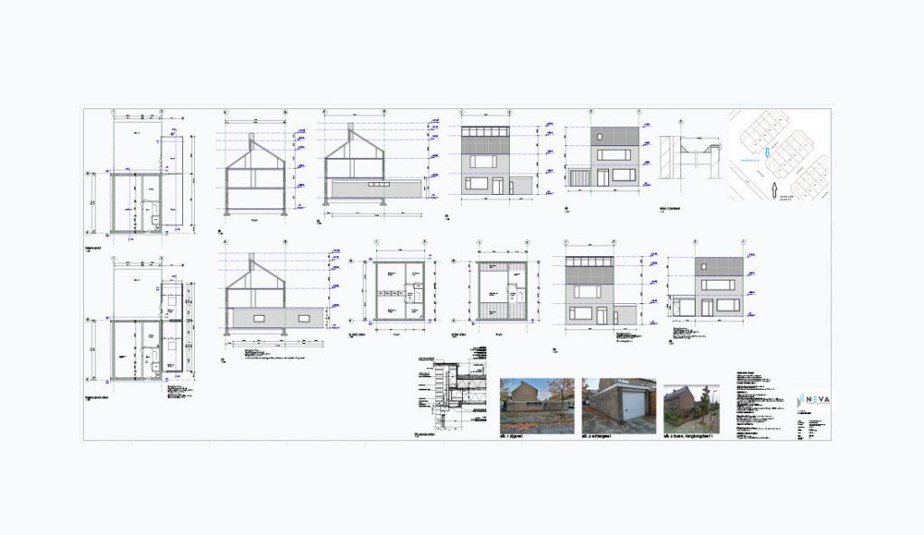 Berging verhogen en toevoegen aan woonruimte