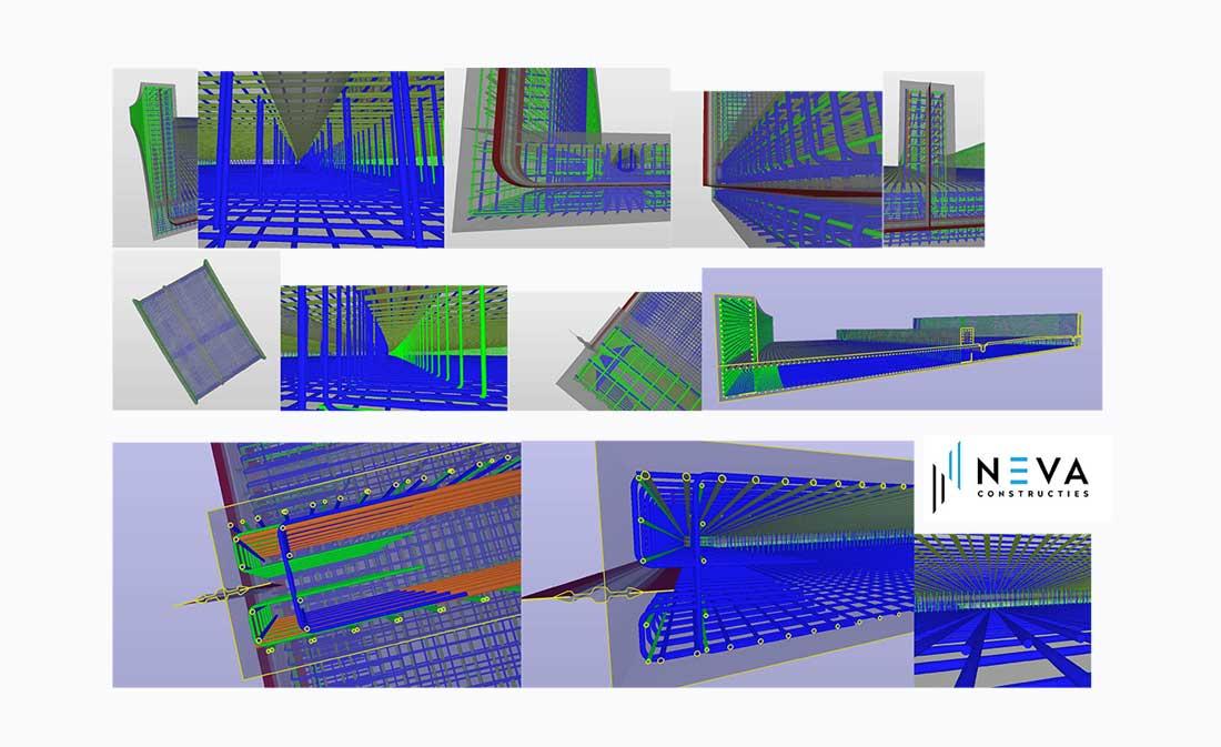 3D-wapeningsmodellen in Allplan