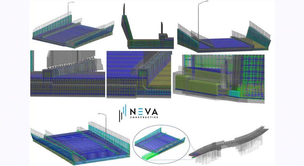 3D wapeningsmodellen in Allplan
