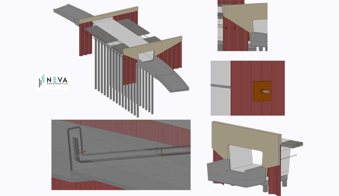 3d Model Fietstunnel